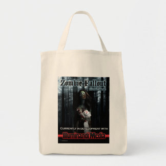 Zombie Fallout Cloth Grocery tote Canvas Bag