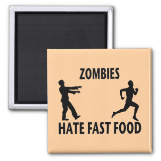 Zombie Fast Food Magnet