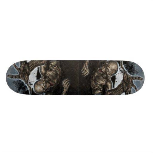 Zombie fest skate board deck