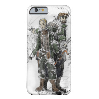 Zombie Fighters Barely There iPhone 6 Case