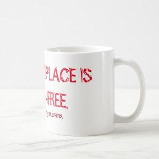 Zombie -Free Workplace mug