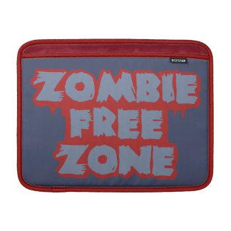 "Zombie Free Zone custom 13"" MacBook sleeve"