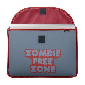 """Zombie Free Zone custom 15"""" MacBook sleeve MacBook Pro Sleeve"""