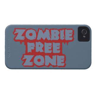 Zombie Free Zone custom iPhone case-mate Case-Mate iPhone 4 Case