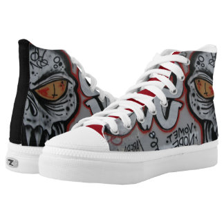 Zombie Fresh Shoe-The Atlanta Graffiti Collection Printed Shoes