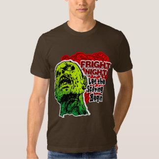 Zombie Fright Night T-shirts