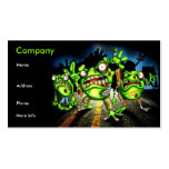 zombie Frogs Business Card
