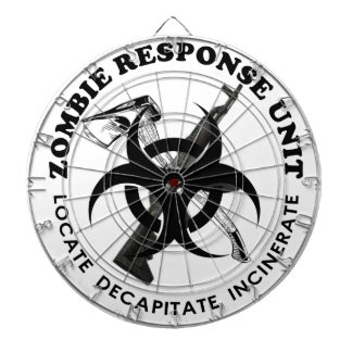 Zombie Gift Response Team Gifts Customize Dart Board
