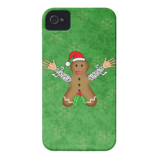 Zombie Gingerbread iPhone 4 Case