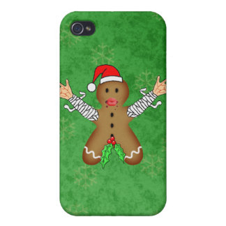 Zombie Gingerbread iPhone 4 Cover