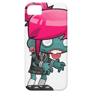 Zombie Girl Cartoon Barely There iPhone 5 Case