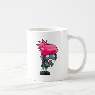 Zombie Girl Cartoon Coffee Mug