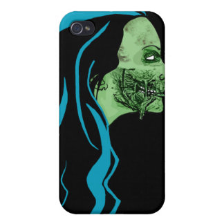 Zombie Girl Case iPhone 4/4S Cover