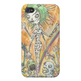 Zombie Girl Cover For iPhone 4