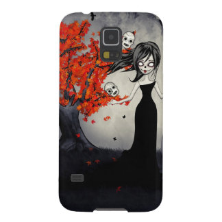 Zombie Girl Juggling Sugar Skulls Galaxy S5 Covers
