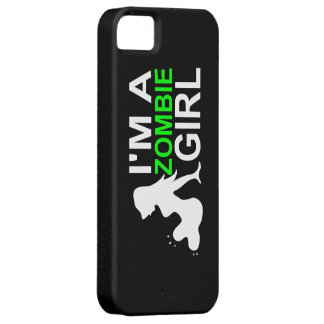 ZOMBIE GIRL PHONE CASE iPhone 5 COVER