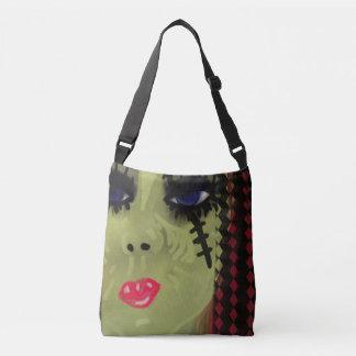 Zombie girl shoulder bag tote bag
