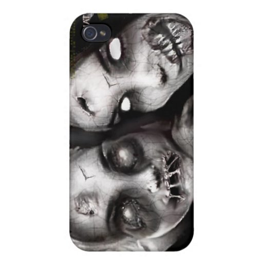 zombie girls iPhone 4 cover