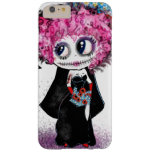 Zombie  goth girl, day of dead PinkyP Barely There iPhone 6 Plus Case