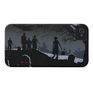 Zombie Graveyard iPhone 4 iPhone 4 Case-Mate Case