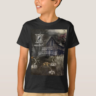 Zombie Graveyard + Rats Sinister Ave Halloween T-Shirt