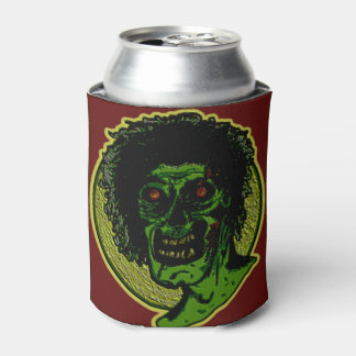 ZOMBIE! Green Face - Over Sized Red Can Cooler