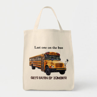 zombie grocery bag