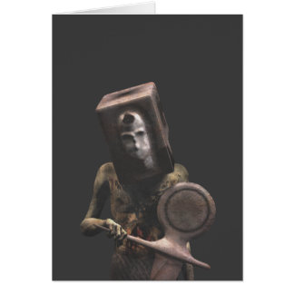 Zombie Guard - Halloween Greeting Card