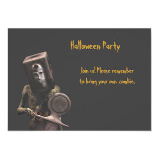 Zombie Guard - Halloween Party Invitation