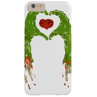 zombie hand making heart barely there iPhone 6 plus case
