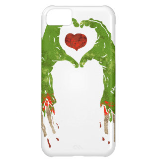 zombie hand making heart iPhone 5C case