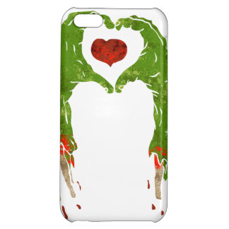 zombie hand making heart iPhone 5C cover