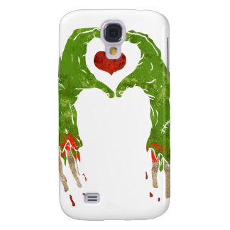 zombie hand making heart samsung galaxy s4 cases