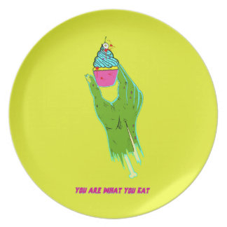 Zombie Hand - You Are What You Eat Plate