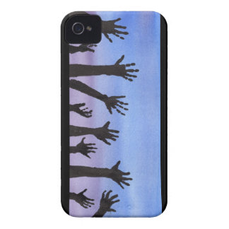 Zombie Hands at Dusk iPhone 4 Cases