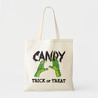 Zombie Hands Trick or Treat Budget Tote