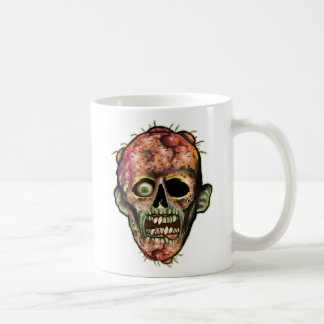 Zombie Head Coffee Mug