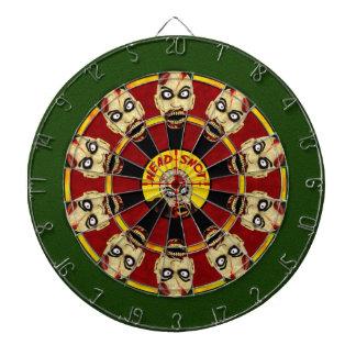Zombie Head Shot Dartboard