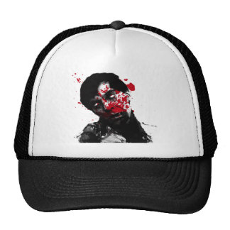 Zombie Head Shot Products Mesh Hats