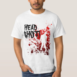 zombie HEAD SHOT! Tee Shirts