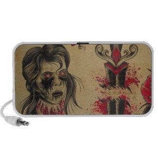 Zombie head speaker