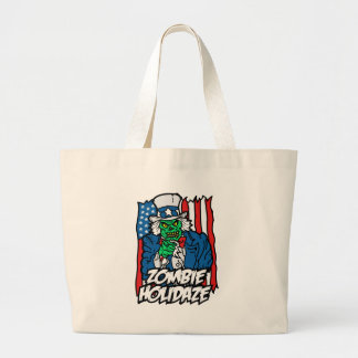 Zombie Holiday Canvas Bag