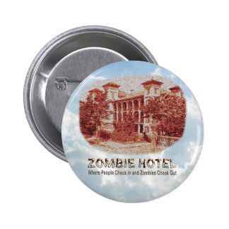 Zombie Hotel - Basic Button