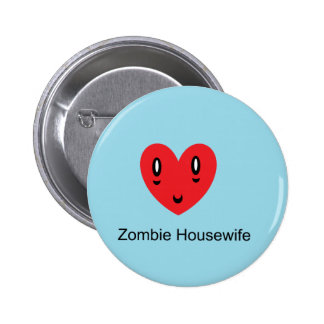 Zombie Housewife Pinback Button