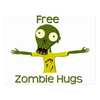Zombie Hugs Postcard