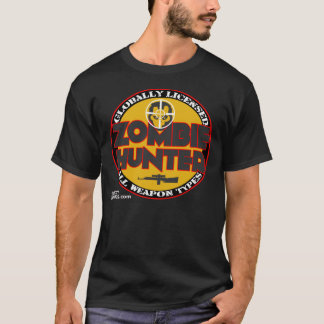 Zombie Hunter All Weapon Types - Accredidation T-Shirt