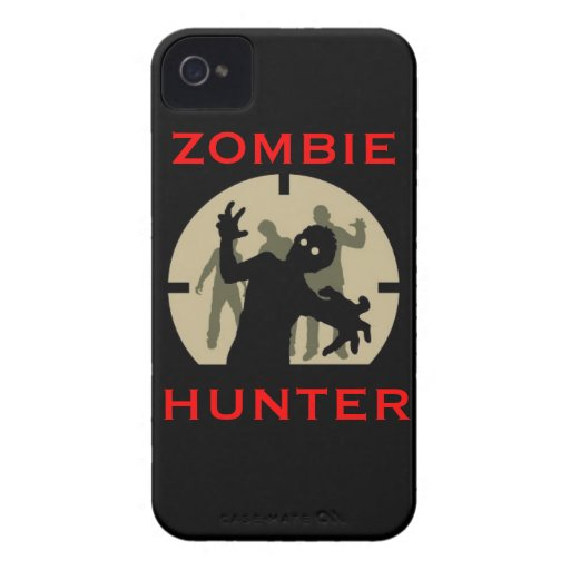 zombie hunter phone case iPhone 4 Case-Mate cases
