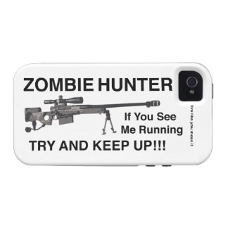 ZOMBIE HUNTER SNIPER DIVISION iPhone 4/4S COVERS