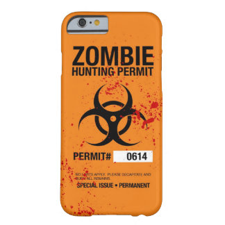 Zombie Hunting iPhone 6 case