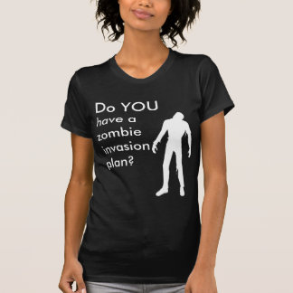 Zombie Invasion Plan T-Shirt